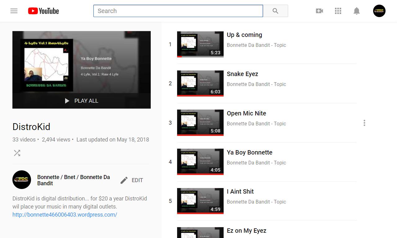 DistroKid - YouTube